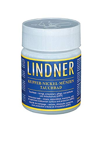 LINDNER Münz-Tauchbad Kupfer-Nickel, 250 ml