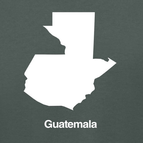 Guatemala Silhouette - Damen T-Shirt - 14 Farben Dunkelgrau