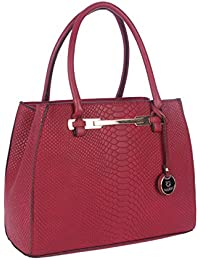 Fur Jaden Women's Handbag(Red,H213_Maroon)