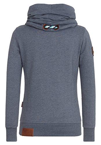Naketano Female Sweatshirt Reorder VIII Dark Ash Melange