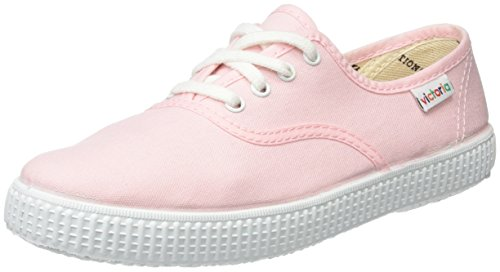 Victoria Inglesa Lona, Baskets Basses mixte adulte Rose (Rosa)