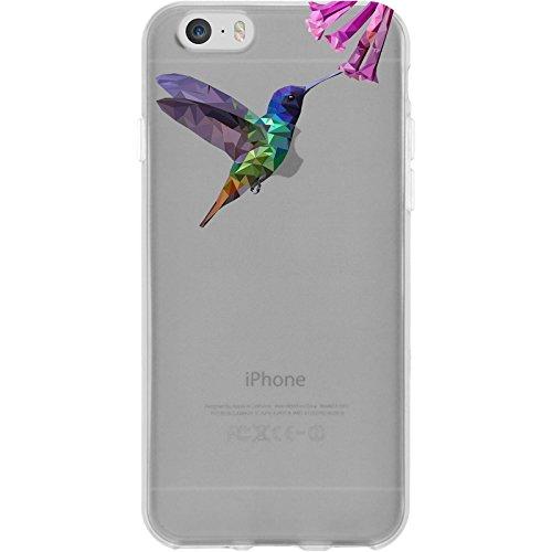 PhoneNatic Apple iPhone 6s / 6 Coque en Silicone animaux vecteur M3 Case iPhone 6s / 6 + films de protection Motif 3