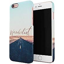 Wanderlust Cruising On Road Trip Tour Voyage Custodia Posteriore Sottile In Plastica Rigida Cover Per iPhone 6 & iPhone 6s Slim Fit Hard Case Cover