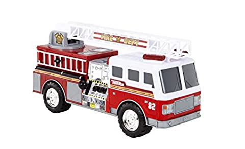 Tonka Toy Mighty Motorised Red Fire Engine Truck
