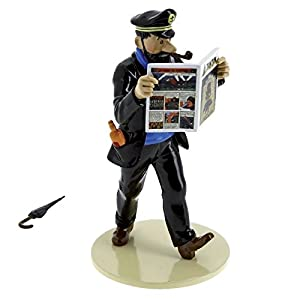 PIXI Figura Moulinsart: Haddock y el Paraguas Lisez Tintin 46301 (2016) 9