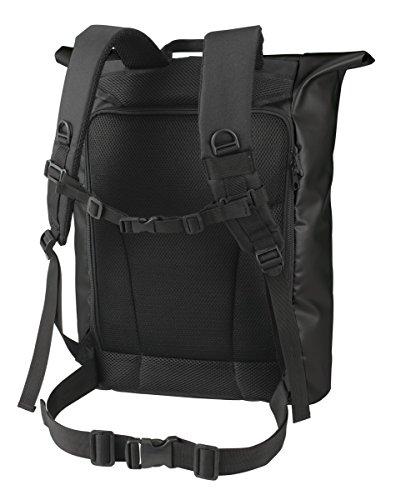 HALFAR® HF3908 Backpack Kurier Eco Rucksäcke Freizeit-Rucksäcke Tasche black (Kurier-tasche Black)