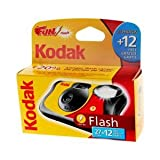 Kodak Fun Flash - Cámara desechable con flash (39 fotografías, 5 unidades)