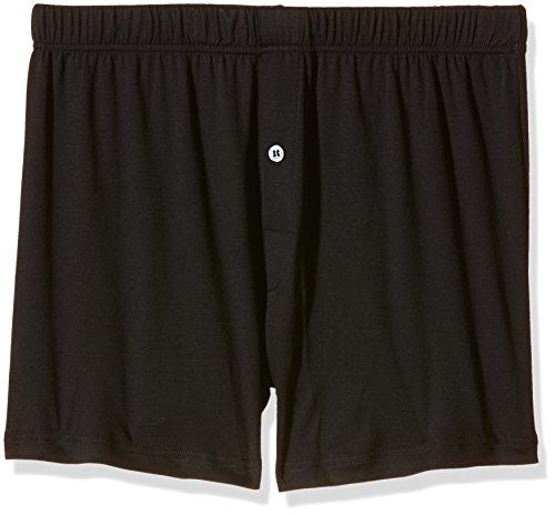 Hanro Herren Boxershorts Sea Island Cotton Schwarz (black 0019)