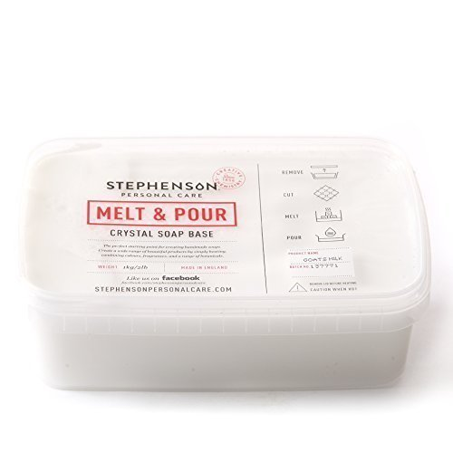Melt And Pour Seifenbasis Ziegenmilch - 2Kg -