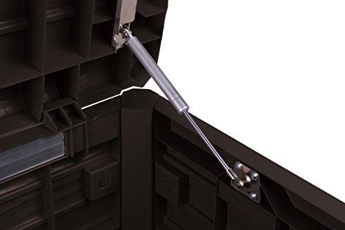 Toomax Kissenbox in Holzoptik, braun, 120L, 73cm - 5