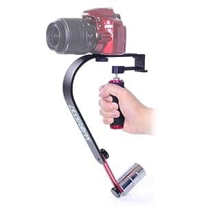 """SevenOak® SK-W02 Poignée de stabilisation 1/4"""" vis pour appareil photo et caméra Nikon Canon Sony DSLR"""