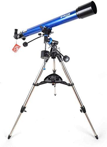 HGERFXC Astronomisches Teleskop, professioneller Deep Space-Eintrag mit Sternenbeobachtung in HD und Stativ, Prisma-wasserdichter, nebelsicherer Männer-Geschenkartikel