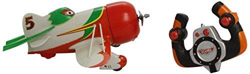 Dickie Spielzeug 203089804 - RC Disney Planes, Driving Plane El Chupacabra, 2-Kanal Funkfernsteuerung, rot/grün/weiߟ