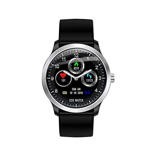 iBâste Intelligente Uhr Armbanduhr N58 Smartwatch 1,22 Zoll mit Herzfrequenzmessung Schrittzähler Kalorienverbrauch für Alltagsleben Gesundheit Sport