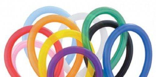 Balloonia - Globos modelar, multicolor (Hispánica de Globos 260)