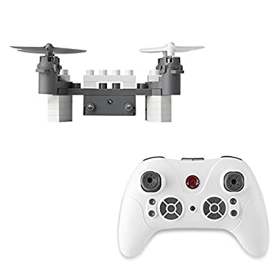 PowerLead RC Drone FPV VR Wifi DIY RC Quadcopter Altitude Hold Remote Control Drone with 1MP HD Camera RC Helicopter