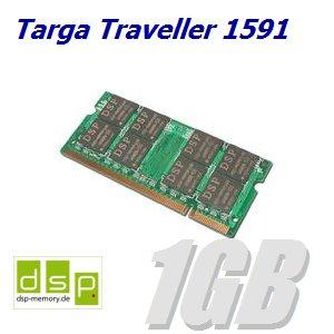 1GB Speicher / RAM für Targa Traveller 1591 - Targa Speicher