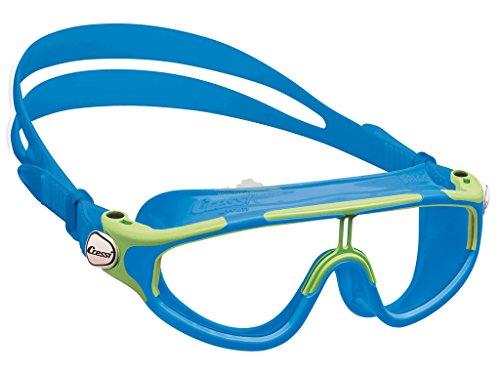 Cressi Premium Schwimmbrille Kinder 2/15 Jahre 100{8ab042c330429a1b7ee93a5e3882b58aee7fa7fb2285447dcc6d42bb67a24817} UV Schutz + Tasche - Hergestellt in Italien