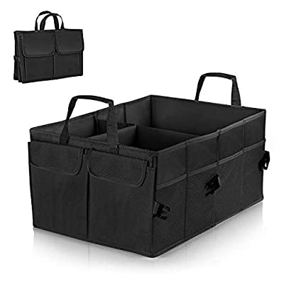 Car Boot Organizer,EletecPro Car Boot Bag Waterproof Foldable 2 in 1 Collapsible
