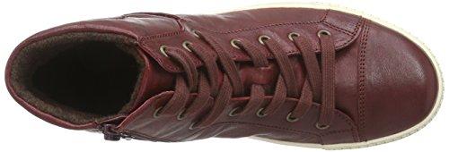 Gabor Gabor Jollys 33.753, Sneakers Hautes femme Rouge (dark-red 55)