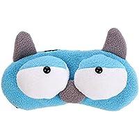 Drawihi Augenmaske Niedlicher Cartoon Augenbinde Schlafmaske Reisen Schlaf-Beihilfen Komfortablen (Blau) 20*7.5cm preisvergleich bei billige-tabletten.eu