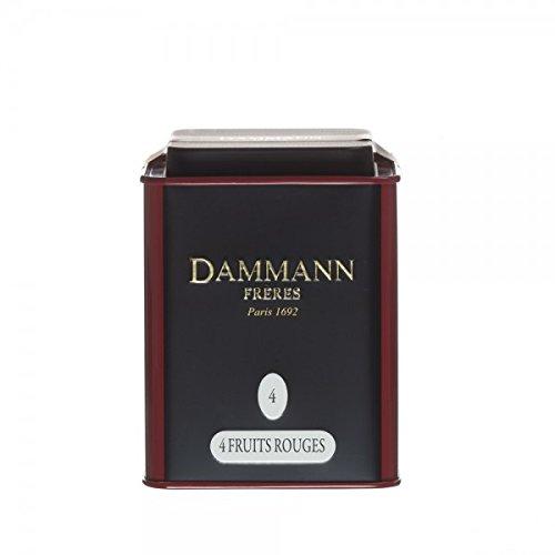 Dammann Frères - 4 FRUITS ROUGES -100gr boite