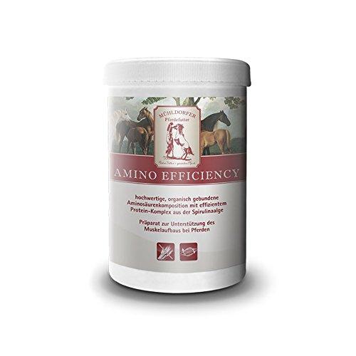 Mühldorfer, Ergänzungsfutter für Pferde, Unterstützung des Muskelaufbaus, Amino efficiency, 0,75 kg