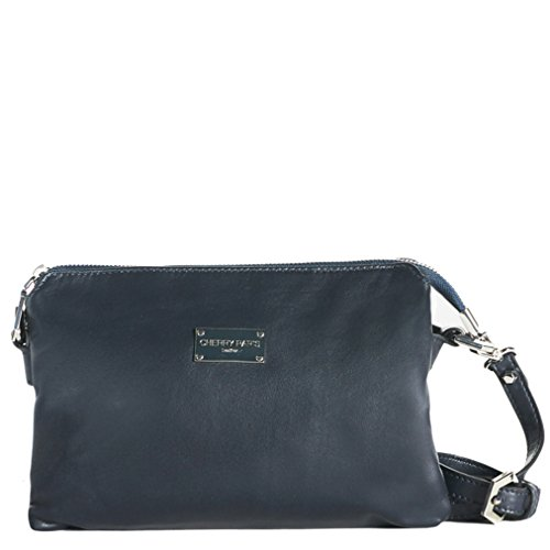 Cherry paris- NEW YORK- Sac pochette- femme marine