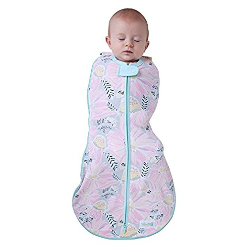 Woombie Grow With Me Lange 5 Stage Lange et sac de couchage naissance au 18 Months-0-18 Months-wild Fleurs