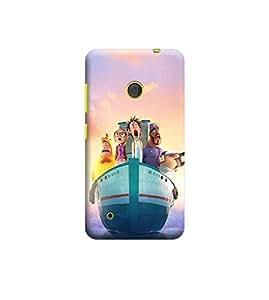 Ebby Premium Printed 3D Designer Back Case Cover For Nokia Lumia 530 (Premium Designer Cae)