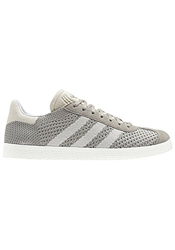adidas Gazelle Primeknit, Baskets Basses Homme Gris (Sesame/Off White/Trace Green)