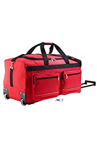 SOL'S - grand sac de voyage luxe trolley - VOYAGER 71000 - rouge