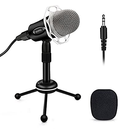 ELEGIANT Micrófono Profesional PC de Condesnsad...