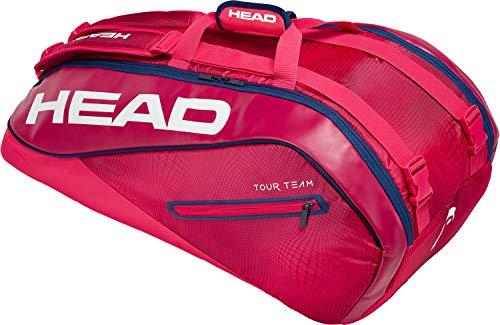 HEAD Tour Team 9r Supercombi Tennisschlägertasche, Unisex, 283119RANV, Raven/Navy, Einheitsgröße