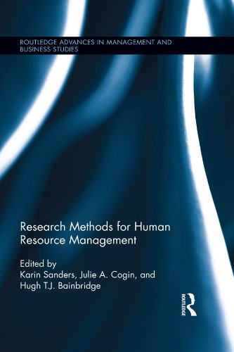 Research Methods for Human Resource Management (Routledge Advances in Management and Business Studies)