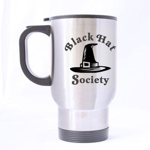 Chapeau de sorcière Mug – Meilleur conçu Chapeau Noir Society Voyage en acier inoxydable Thé Mug/tasse à thé – 396,9 gram