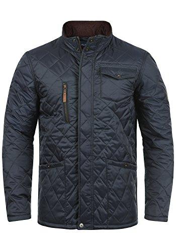 Blend Camilo Herren Steppjacke Übergangsjacke Jacke Mit Stehkragen, Größe:L, Farbe:India Ink (70151)