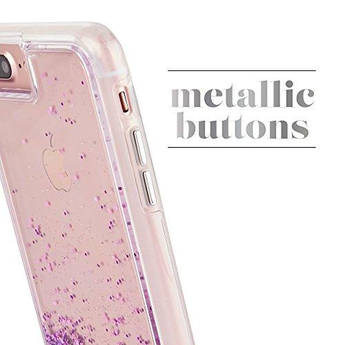 Caso nudo iPhone 7 / 6s / 6 di Case-Mate Magenta Waterfall