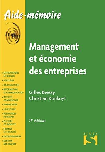 Management et économie des entreprises - 11e éd.