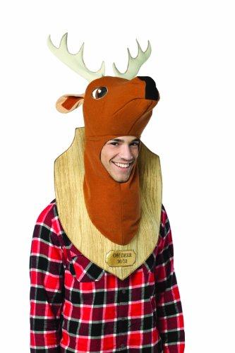 Hunter Kostüm The Deer - Rasta Imposta oh Hirsch Trophäe - Adult Kostüm
