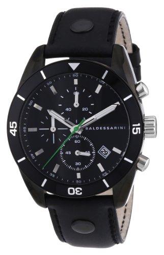 Baldessarini Herren-Armbanduhr XL ORD Chronograph Quarz Leder Y8044W/20/00