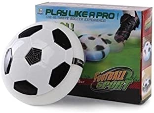 Lalli Sales Indoor Football Sport Toys The Ultimate Soccer Game, with Multi Lighting Feature -Magic Hover Football Toy Indoor Play Game Best Toy for Kid