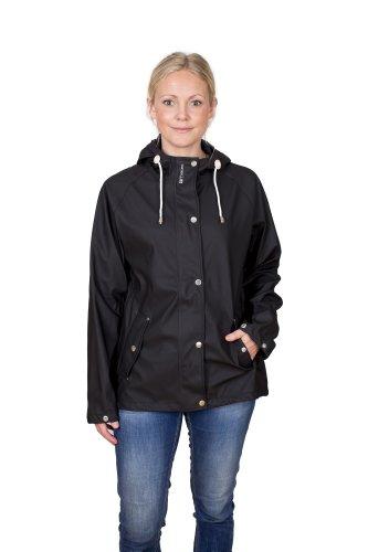 Tretorn tora rain veste de pluie pour femme Noir - jet black