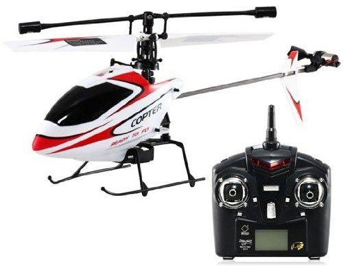 WLtoys V911 Mini Hélicoptère Radiocommandé RC 4Voies avec Gyro 2.4GHz –...