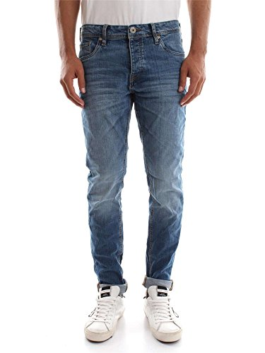 JACK&JONES 12110050 TIM L.32 BLUE DENIM JEANS Uomo BLUE DENIM 29
