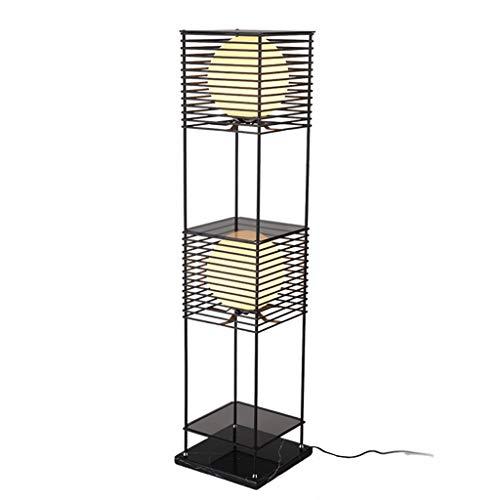 Standleuchten & Deckenfluter Stehleuchte Schmiedeeisen Stehleuchte Einfache Moderne Wohnzimmer Studie Schlafzimmer Stehleuchte Kreative Persönlichkeit Rack Nachttischlampe -
