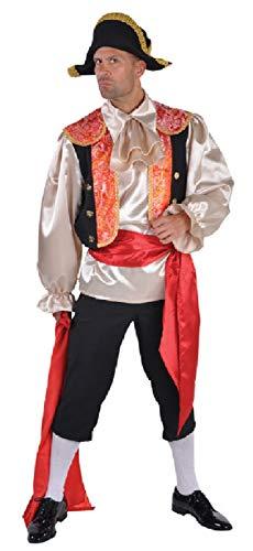 M212203-M-A Herren Spanier Kostüm Torrerokostüm Stierkämpferkostüm Gr.M=52