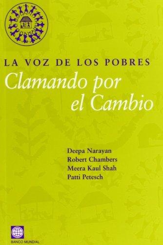 Lavozdelospobres.Clamandoporelcambio por BANCO MUNDIAL