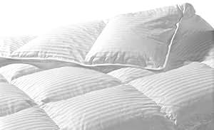 Highland plumes de Fabrication 45-ounce Santa Monica Couette duvet d'oie, King, blanc