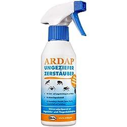 ARDAP Zerstäuber – Wirkungsvolles Insektizid gegen Fliegen, Schädlinge oder Lästlinge – Pumpspray für Zuhause oder in unmittelbarer Nähe von Tieren – 1 x 250 ml